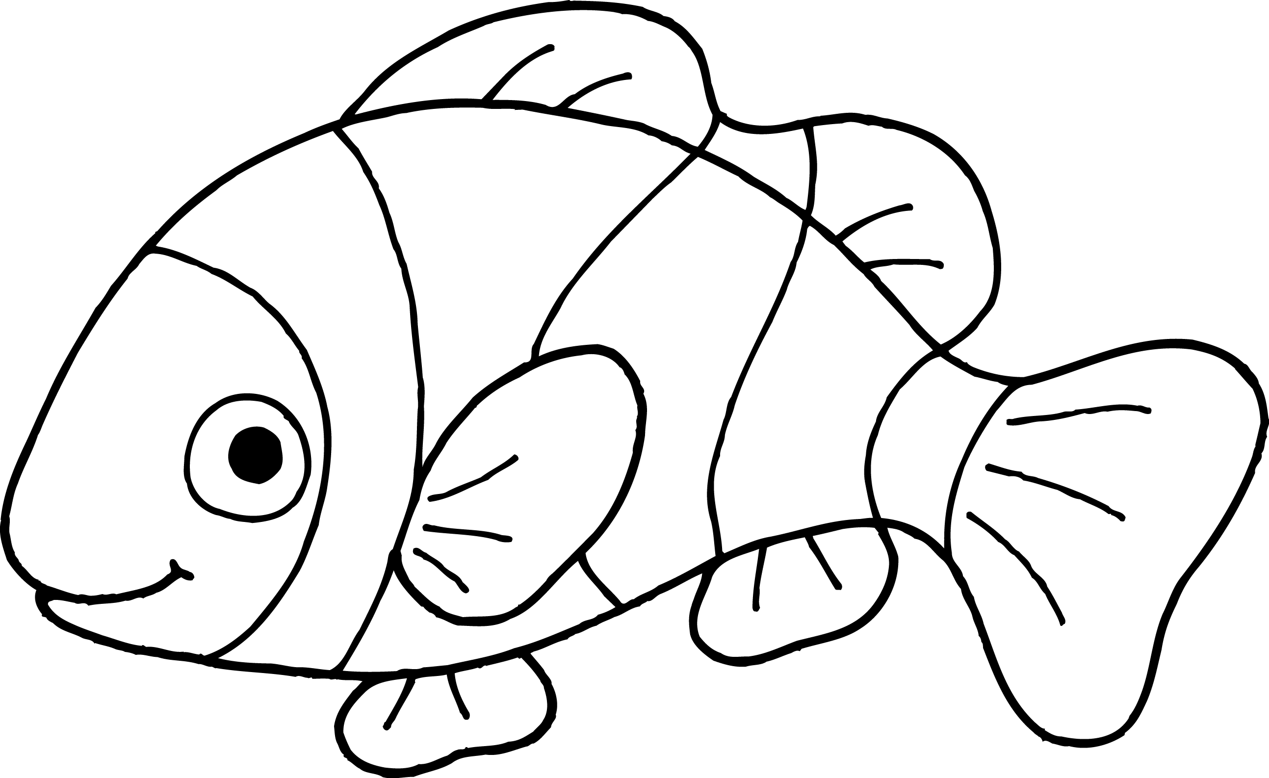 Fish Clip Art Black And White - ClipArt Best