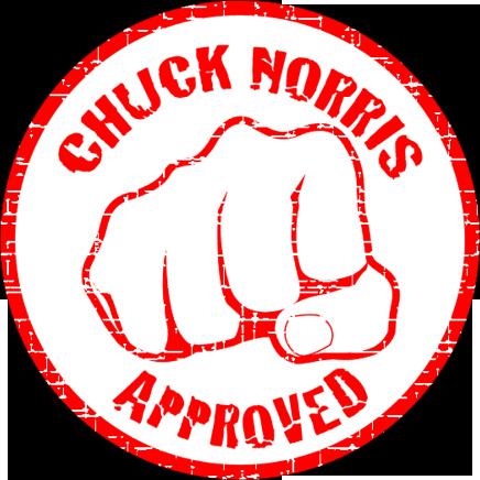 Chuck norris fist