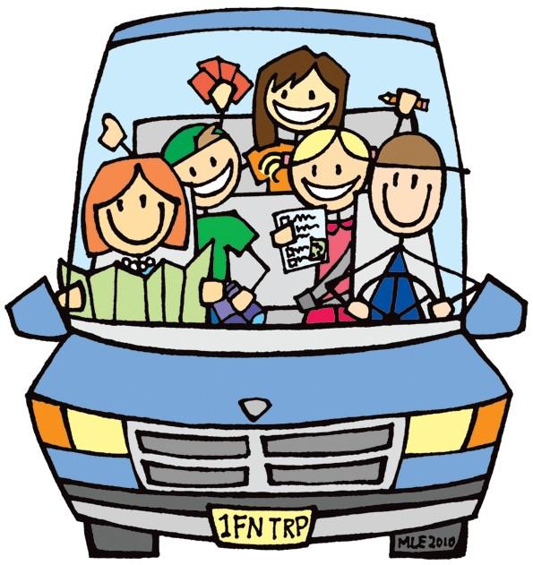 Family In Car Clip Art - ClipArt BestFamily Car Clipart