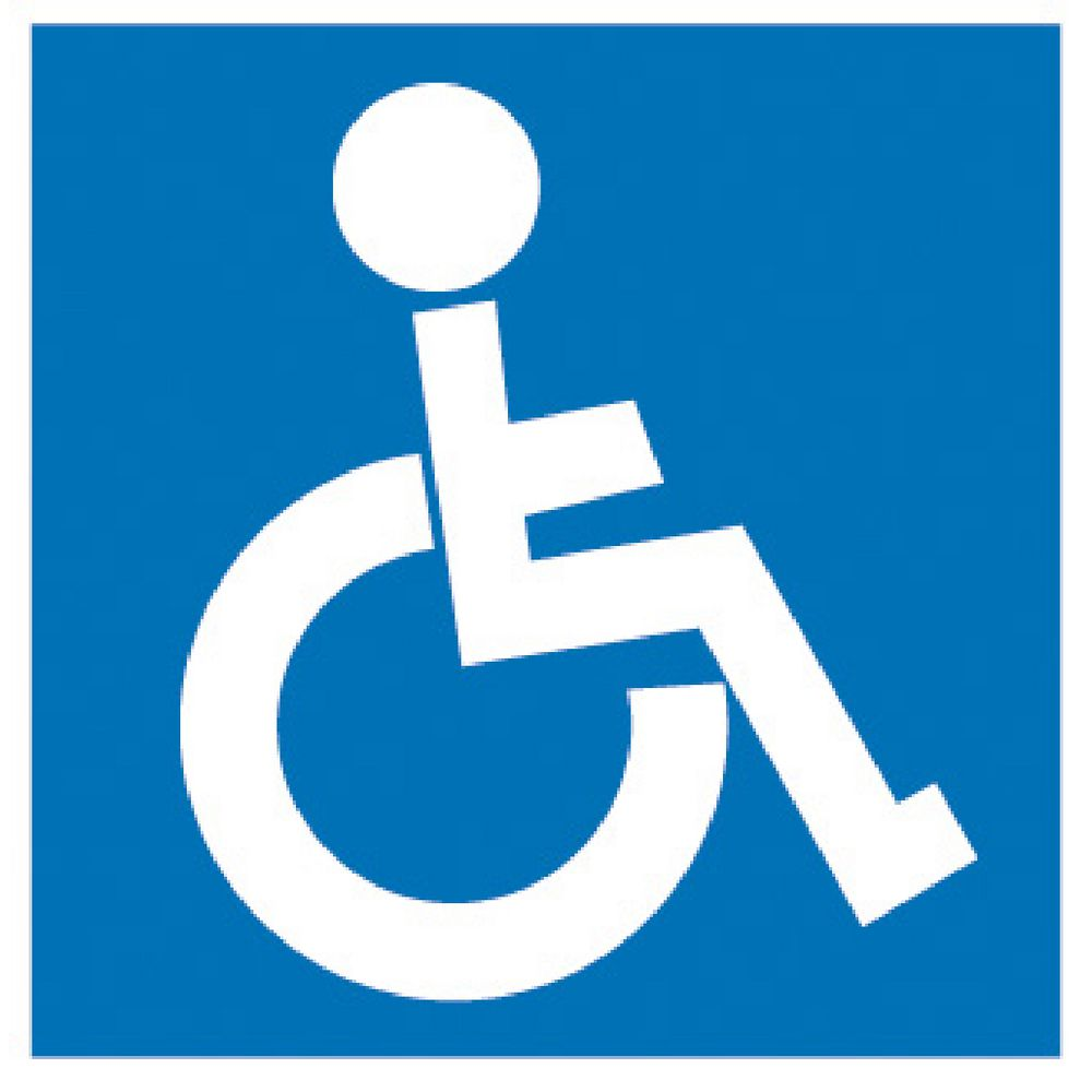 Disabled Signs - ClipArt Best