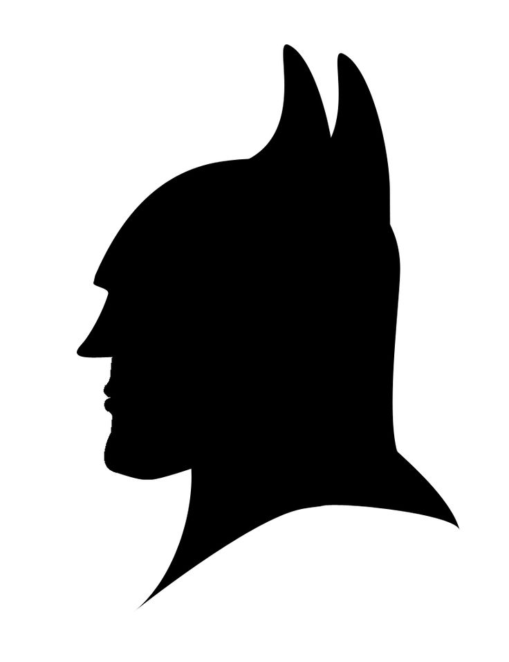Stencil Batman - ClipArt Best