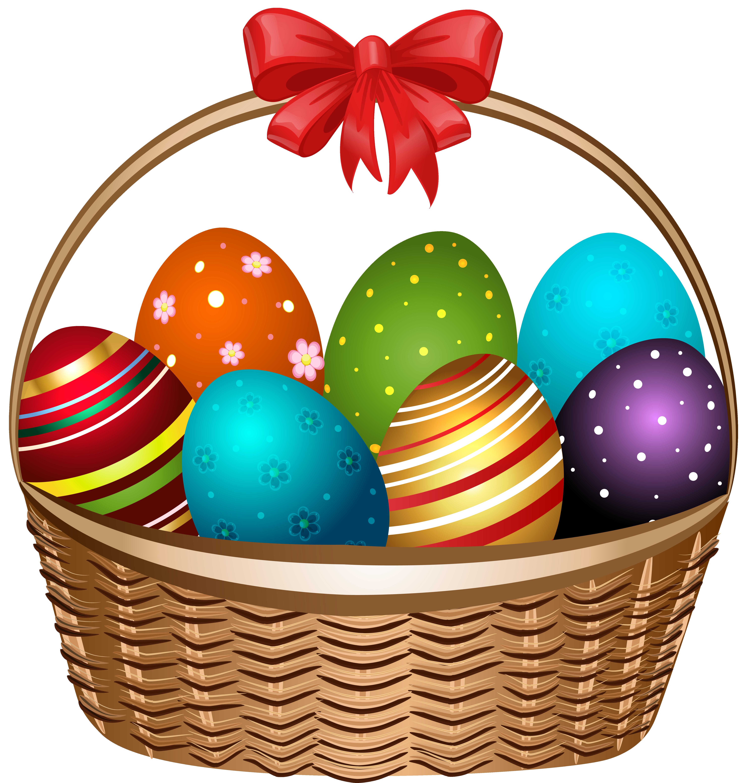 Easter Basket Clipart : Easter basket clip art free clipart best