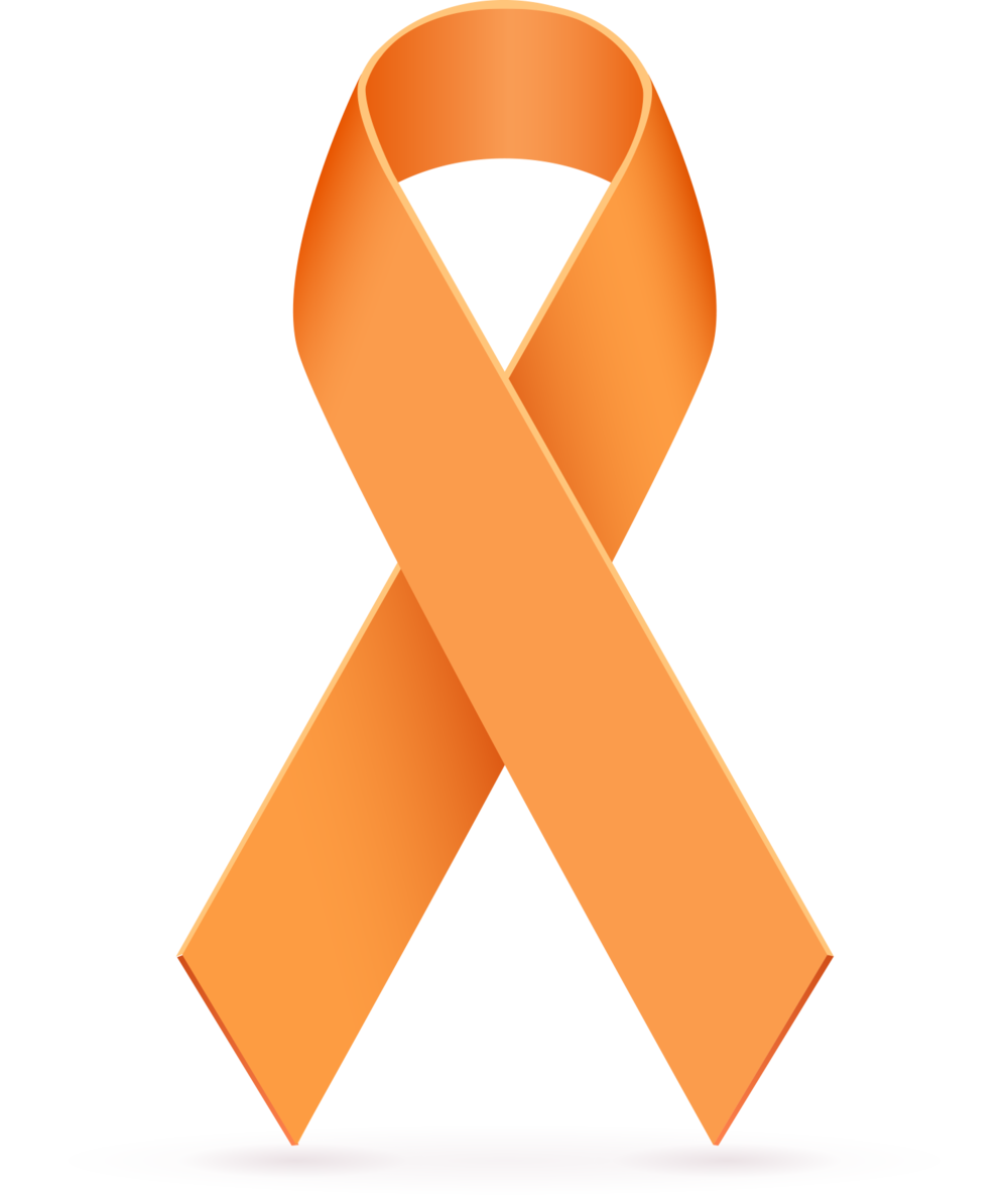 19 orange ribbon free cliparts that you can download to you computer ...