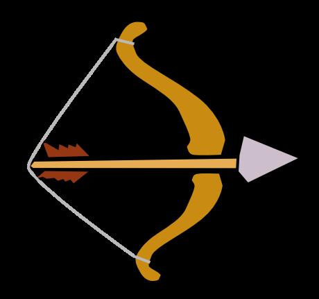 Bow And Arrow Clip Art - ClipArt Best