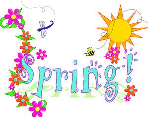 Happy Spring Clip Art Clipart Best