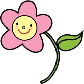 Smile Happy Flower Clipart