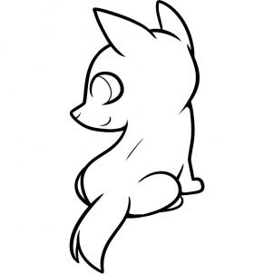 Drawing Of Wolves Easy - ClipArt Best