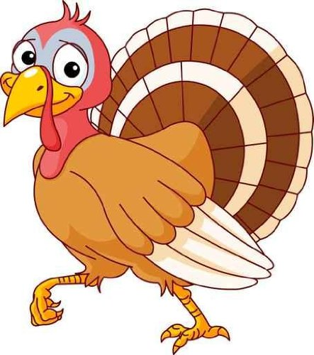 Cute Turkey Clipart - Free Clipart Images