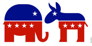 Republican-democrat-symbols- ...