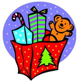 Christmas Toys Clip Art - Royalty Free - GoGraph