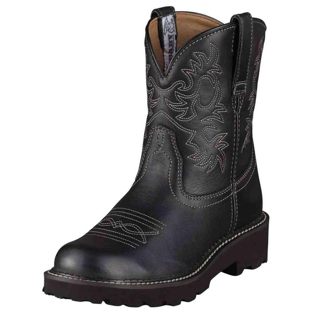 Elegant Corral Ladies Genuine Lizard/Leather Cowboy Western Boots Black C2108 | EBay