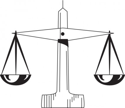 Scale Of Justice clip art Free vector in Open office drawing svg ...