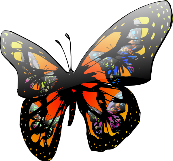 Animated Butterflies Flying - ClipArt Best