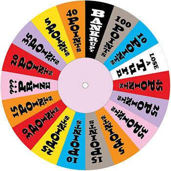 Pictures of Wheel Of Fortune Spinner Template - #rock-cafe