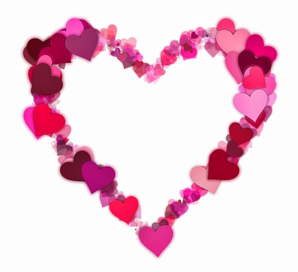 Love Heart To Print - ClipArt Best