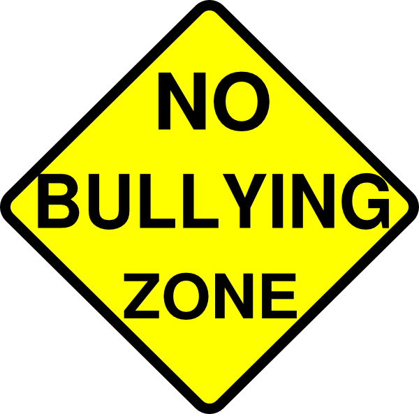 Free no bullying clipart