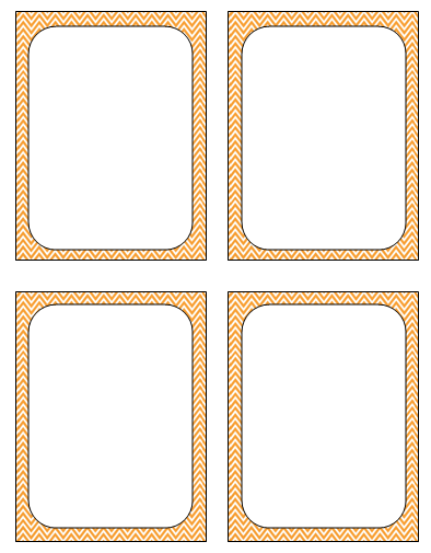Best Photos of Blank Playing Cards For Printing - Printable Blank ...