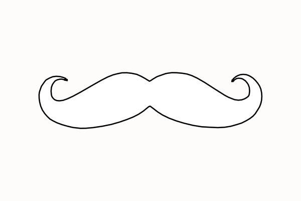 beard coloring pages   Moustache Coloring Pages - ClipArt Best