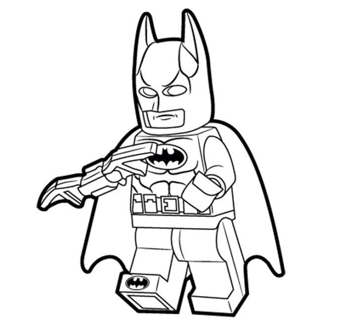 clip art batman coloring pages - photo#21