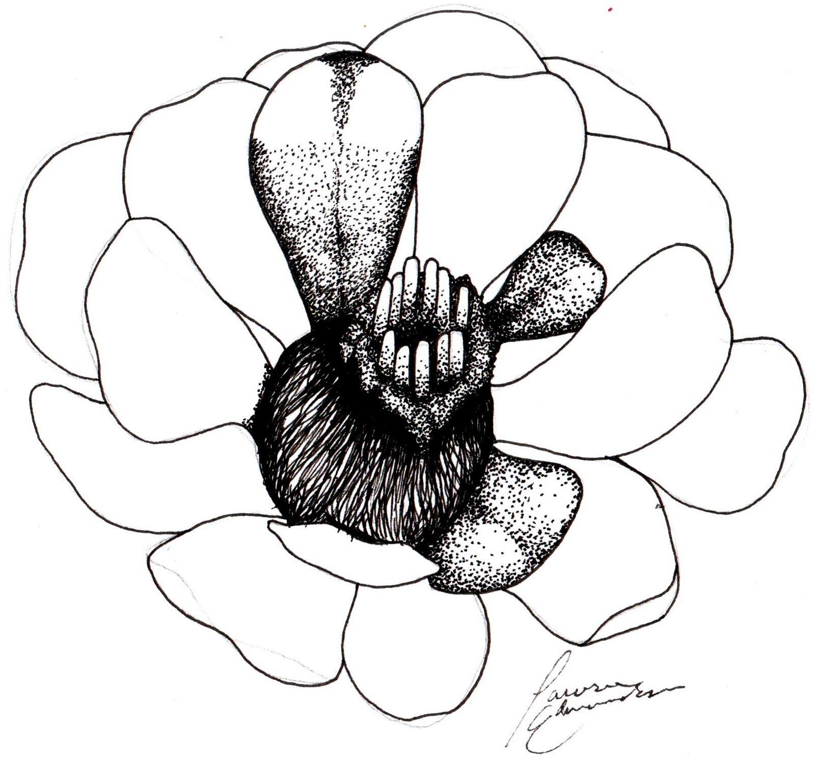 Cactus Flower Drawing - ClipArt Best  Cactus Flower Outline
