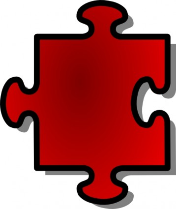 Jigsaw puzzle piece clip art Free vector for free download (about ...
