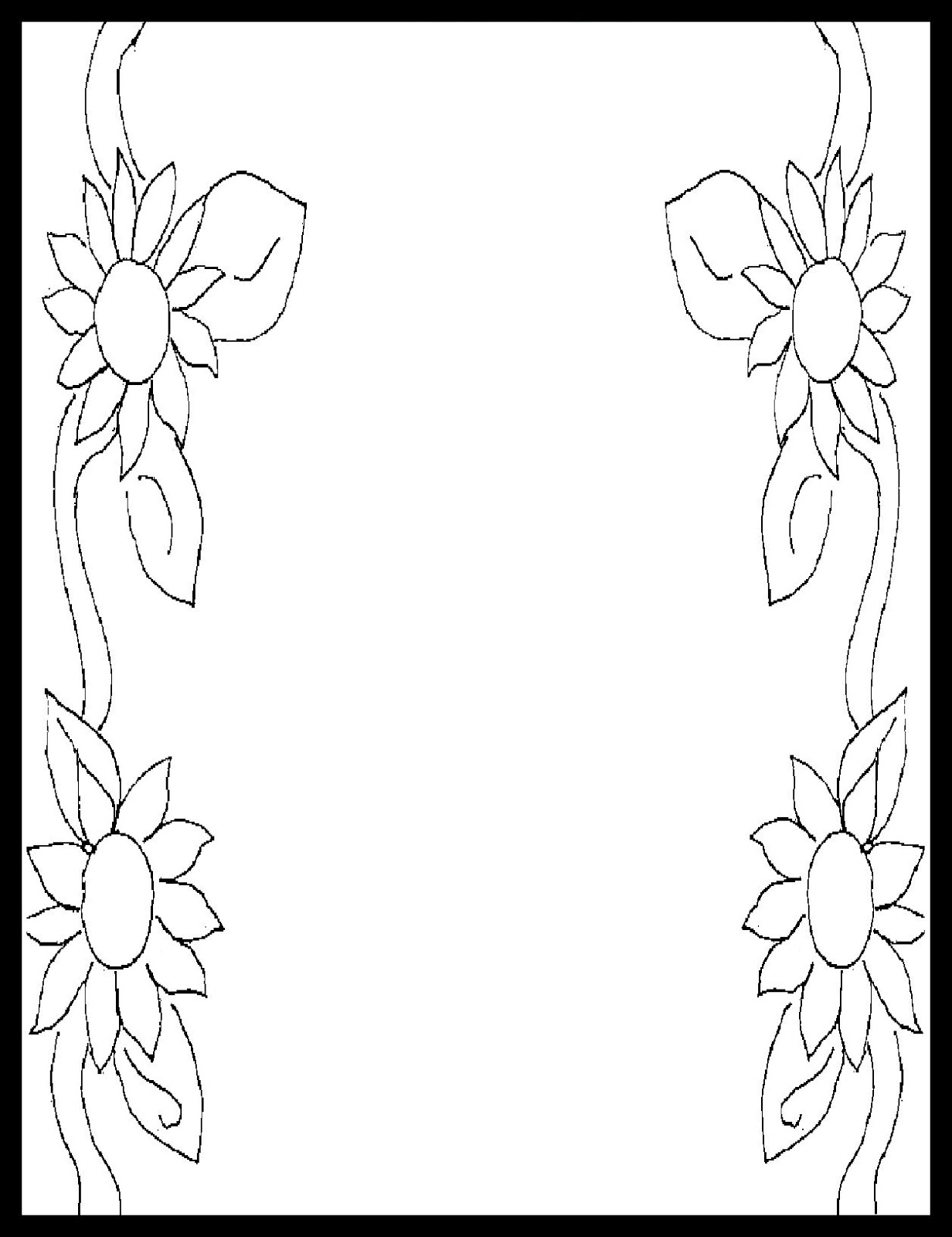 Border Coloring Pages - ClipArt Best