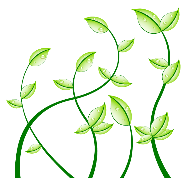 free clipart green leaf - photo #26
