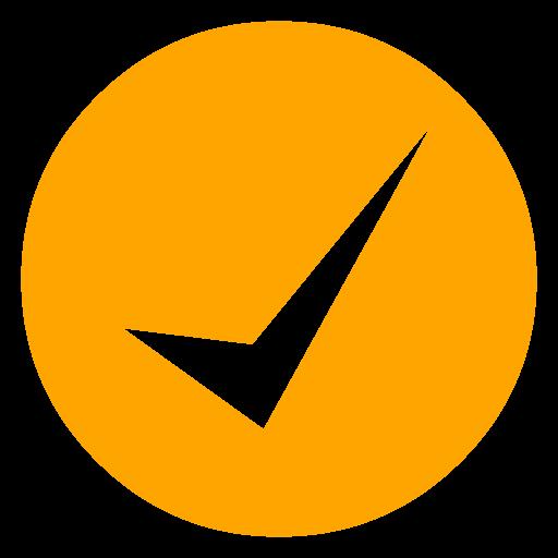 Checkmark Orange - ClipArt Best