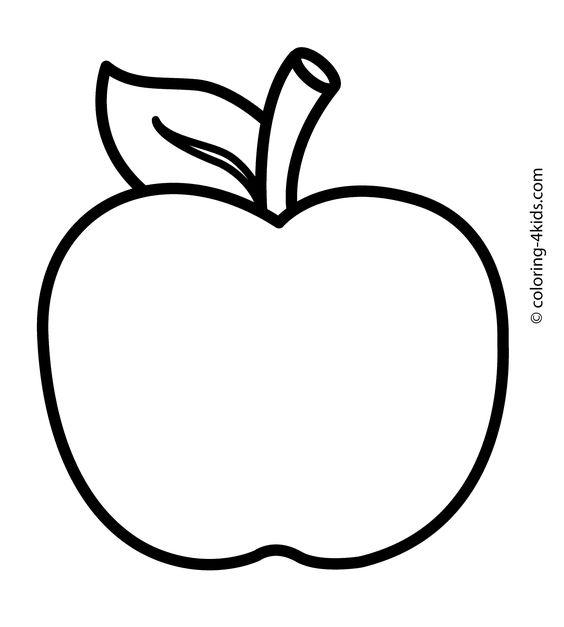 Free Printable Coloring Page Apple Picking