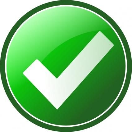 Green Check Mark Bmp - ClipArt Best