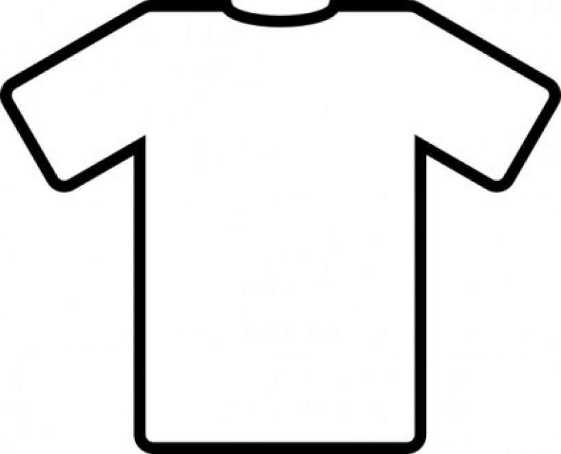 t shirt shape clipart - photo #14