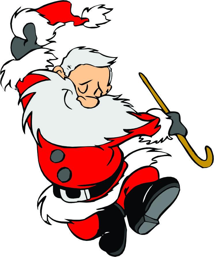 cartoon pics of santa clipart best Reindeer Clip Art Elf Clip Art