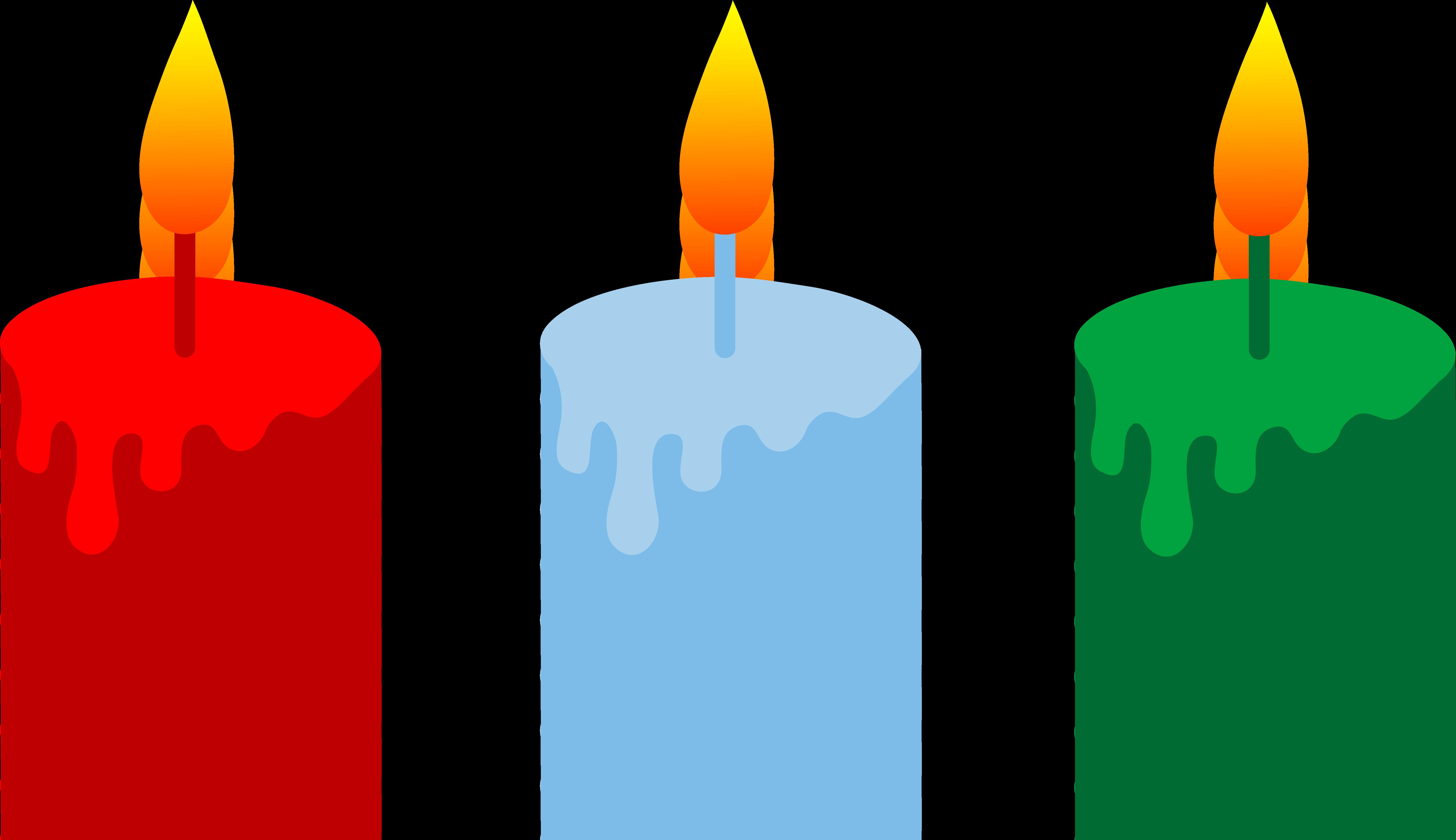 candle clip arts