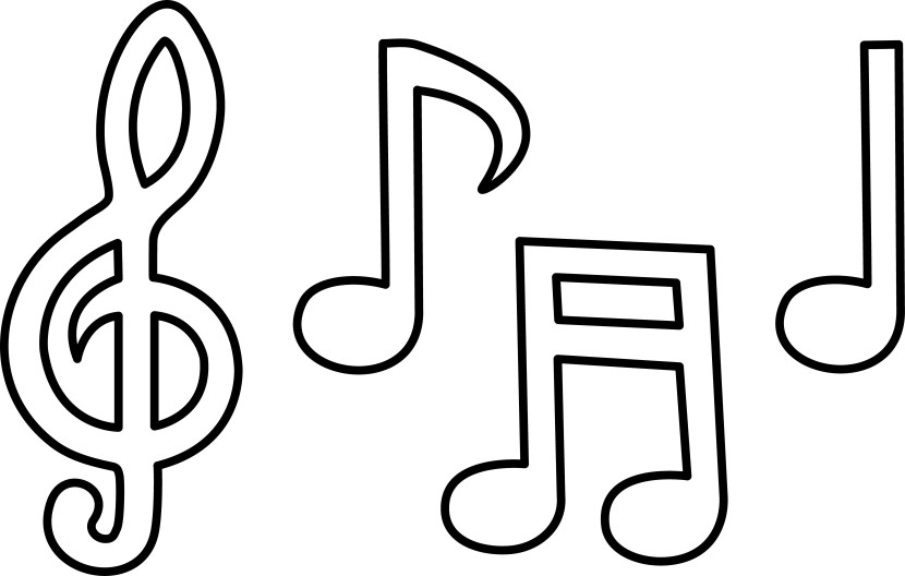 - Printable Music Notes - ClipArt Best