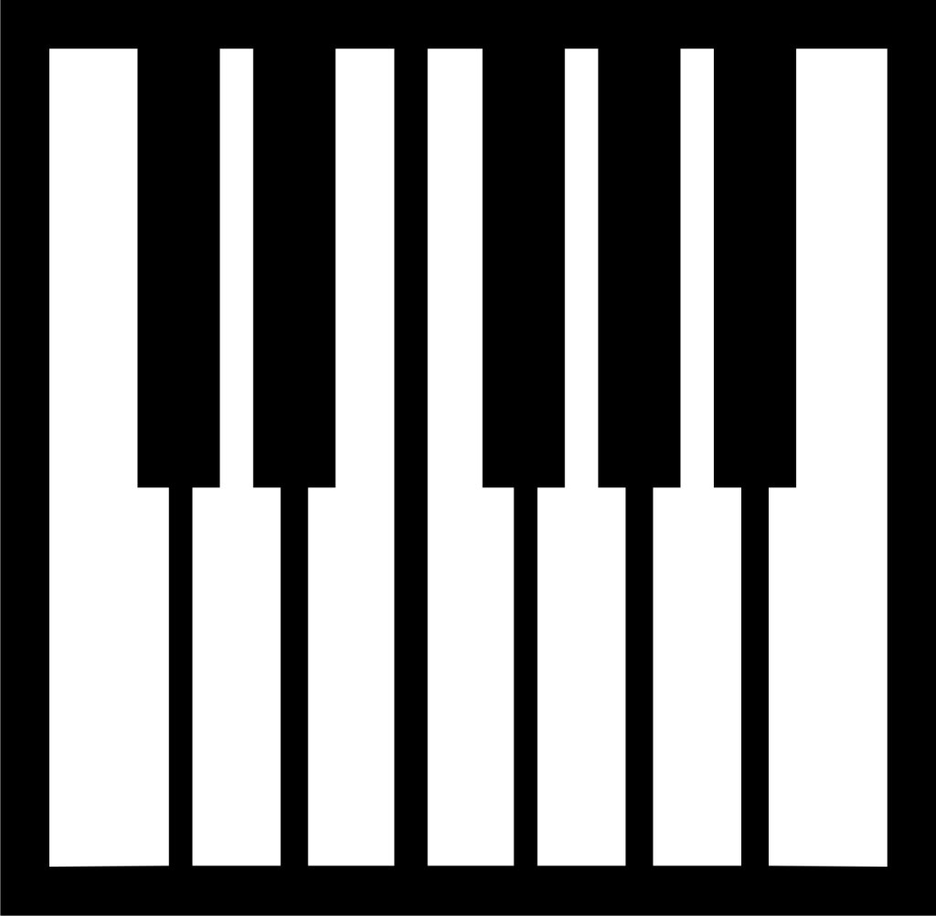 Piano Keyboard Layout Printable - ClipArt Best