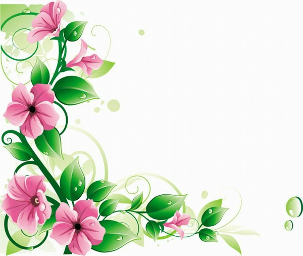 Clip Art Flowers And Vines
