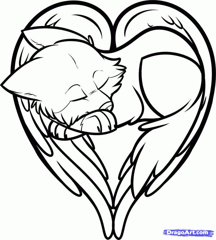 Cute drawings of hearts