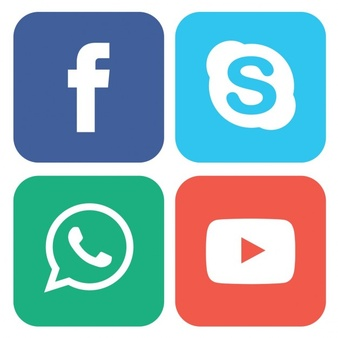 Square social media collection Vector | Free Download
