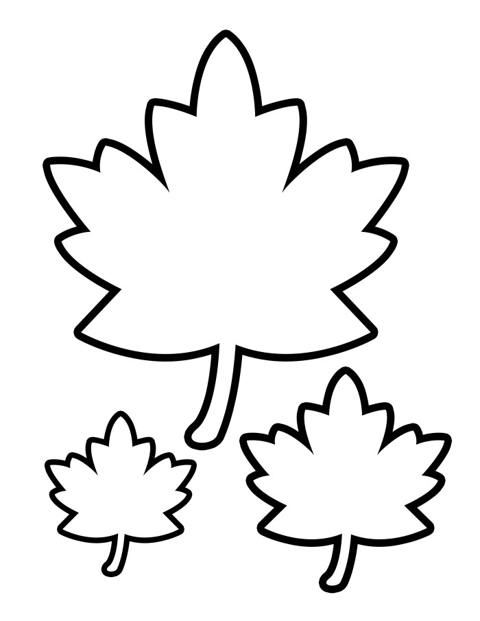 This is a graphic of Dynamic Fall Leaf Printable