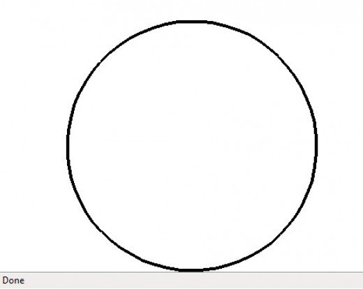 Line Drawing Circle - ClipArt Best