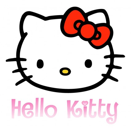 Hello kitty vector logo eps Free vector for free download (about 3 ...