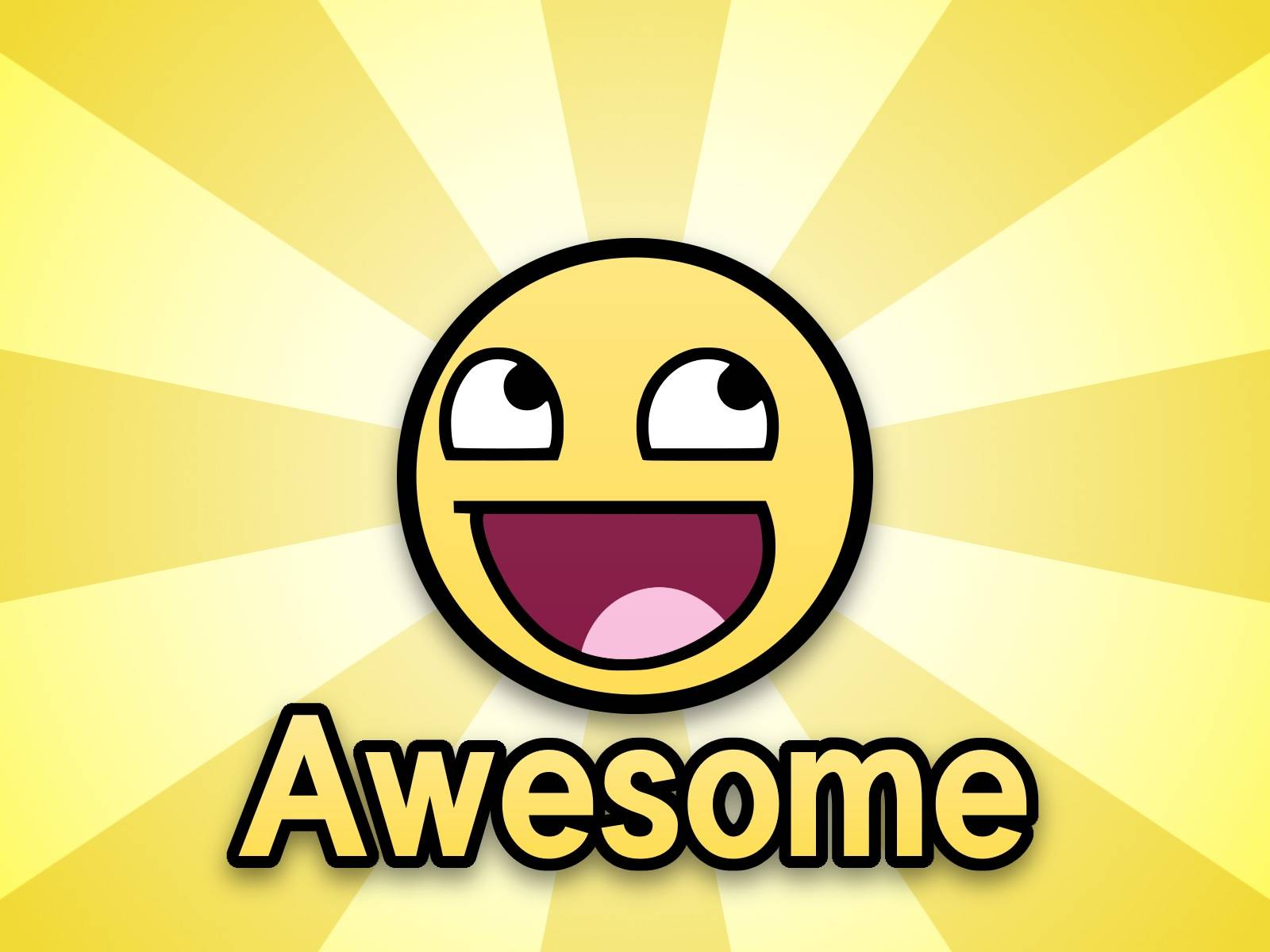 Happy face wallpaper clipart best for Awesome englisch