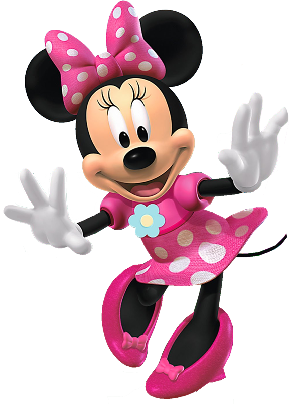Free minnie mouse clipart illustration