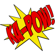 Ka-Pow comic book sfx T-Shirt ID: 10486061