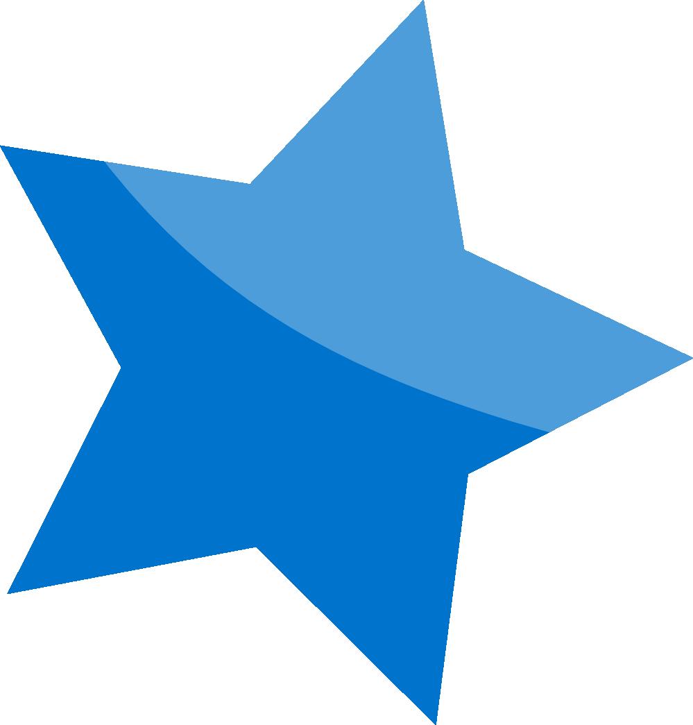 Wall Design Clipart : Blue star clipart best