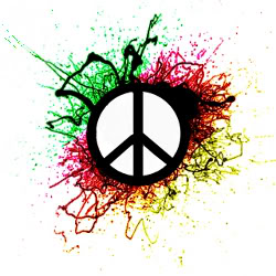 background designs peace sign - photo #30