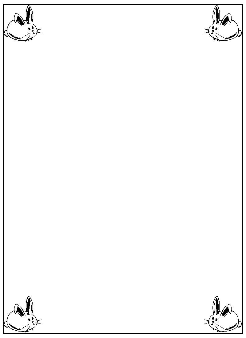 page border coloring pages - photo#46