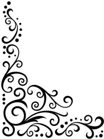 White Decorative Line Png