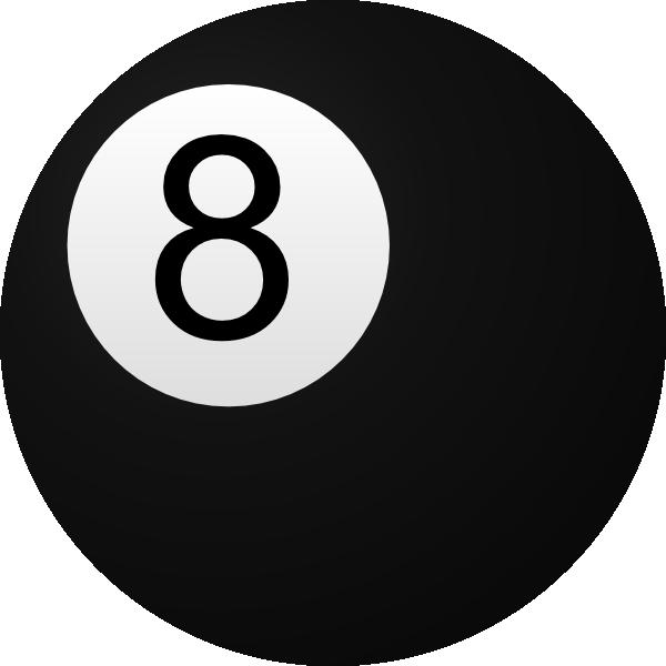 8 ball clipart best for 8 ball pool design