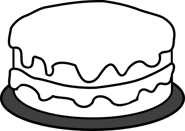 Cake Art Template : Birthday Cake Template - ClipArt Best
